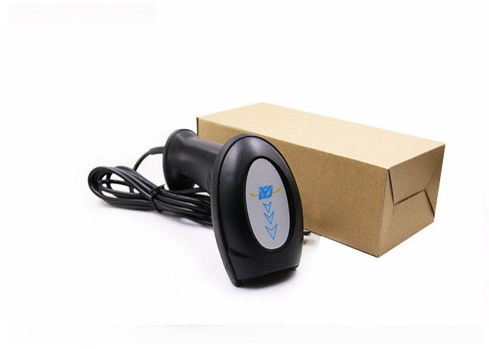 Red Light CCD Barcode Scanner , 10-600mm Depth Field 1D Barcode Reader DS5200